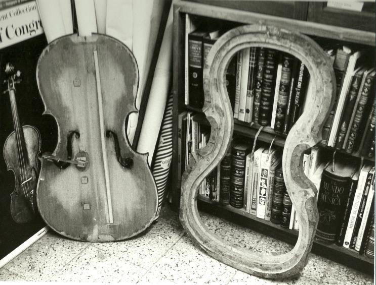 violin antiguo
