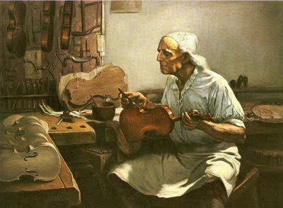 luthier barnizando